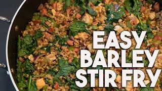 BARLEY Stir fry | Healthy Complex Carb rich | Kravings