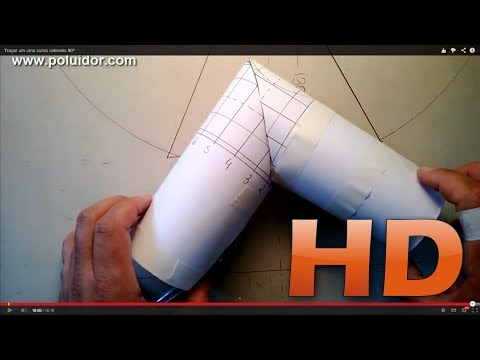 Baixar Traçado de Curva cotovelo 90° - Caldeiraria