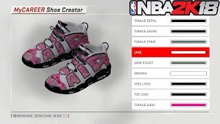 CREATING OUR OWN CUSTOM SHOE NBA 2K18