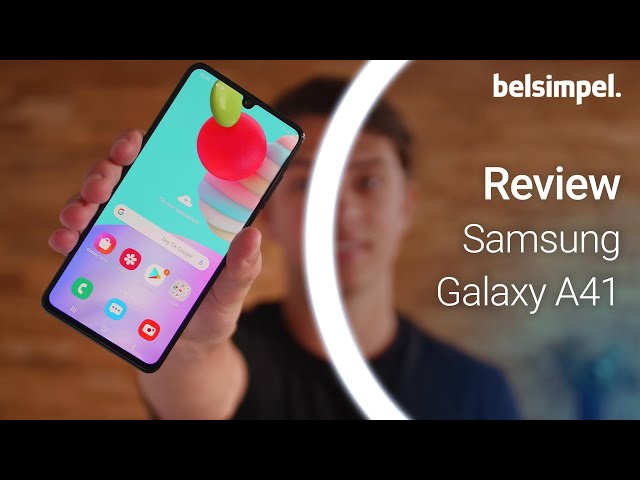 Belsimpel-productvideo voor de Samsung Galaxy A41 Black