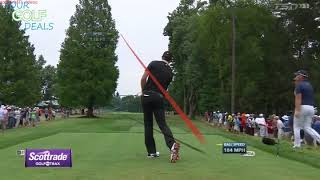 Dustin Johnson Golf Tracer - Best ProTracer Compilation - Part 2