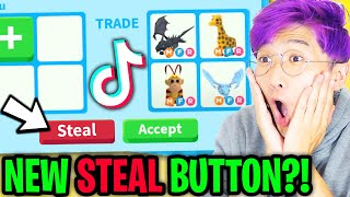 Can We Get These NEW ADOPT ME TIK TOK HACKS To ACTUALLY WORK!? (STEAL PETS!?)