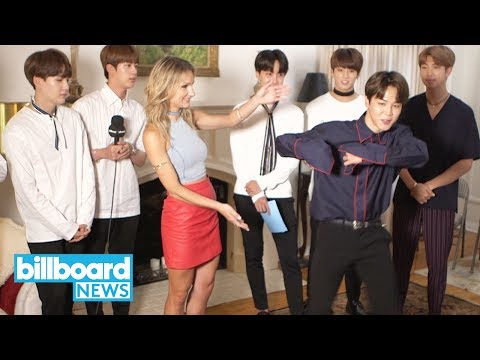 BTS Step by Step Dance Tutorial With Chelsea Briggs | Billboard News