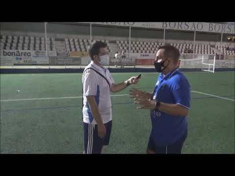 QUIQUE BENEDÍ (Entrenador Borja)SD Borja 1-2 CF Calamocha / Jornada 1 - Grupo A / Copa Federación
