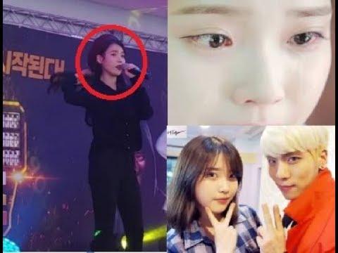 아이유 올검은색 의상 입고 '너의 의미' 부르다 울음 쏟아진 사연 ㅠㅠ 故 종현에게 직접 쓴 편지 Singer IU Cried While Singing Jonghyun's Song
