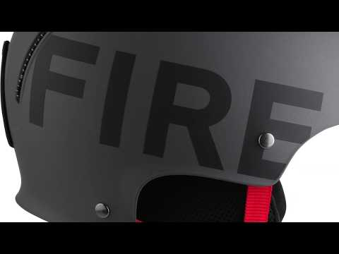 BOGNER Fire + Ice Freeride Ski Helmet In Anthracite