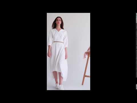 Thea White Dress