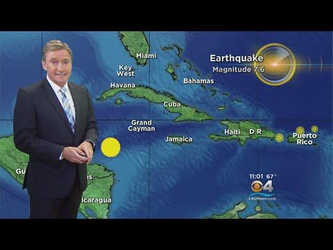 USGS: Magnitude 7.6 Earthquake Strikes In Caribbean Sea North Of Honduras