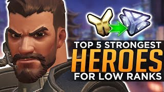 The BEST Overwatch Heroes for Low Ranks! - YouTube