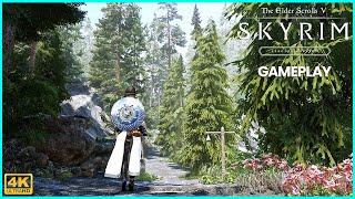 SKYRIM SE ULTRA MODDED Gameplay 4K I RTX 2080ti l WIP Modlist
