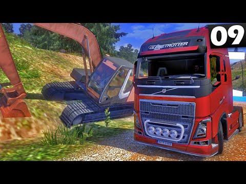 Estrada em Obras - Euro Truck Simulator 2