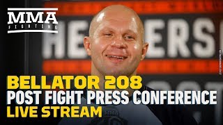 Bellator 208 Post-Fight Press Conference Live Stream - MMA Fighting
