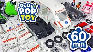 September 2018 TOP 10 Videos 60min Go! Mini Force, Avengers and Transformers #DuDuPopTOY