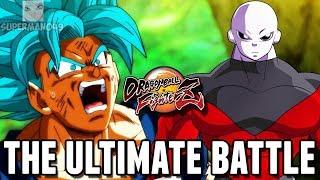 GOKU VS JIREN! - Dragon Ball FighterZ: Jiren, SSGSS Goku & SSGSS Vegeta Gameplay