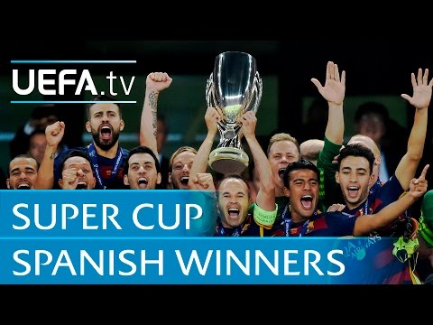 Highlights: Spanish Super Cup winners