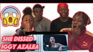 Bhad Bhabie - Hi Bitch Remix Music Video ft Rich The Kid, Madeintyo, Asian Doll - REACTION