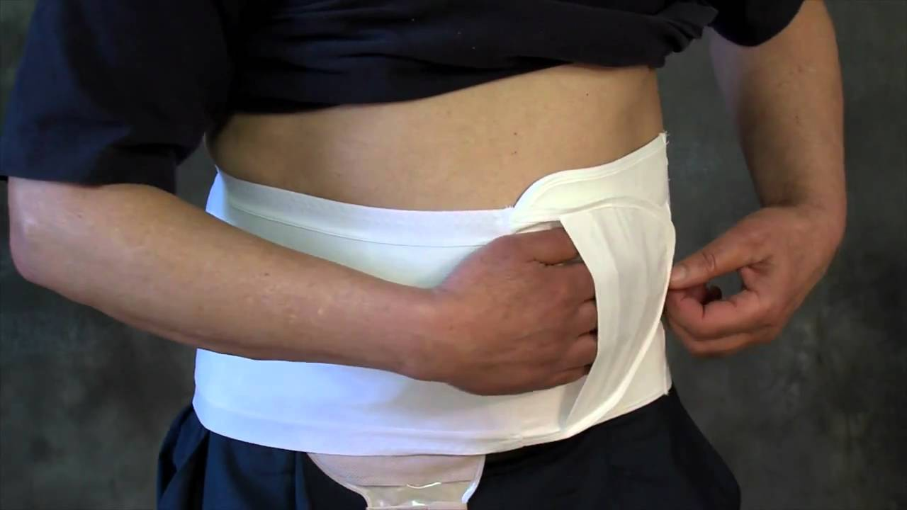 Colostomy Bag Belt