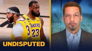 Chris Broussard breaks down LeBron, Lakers' 116-98 Game 1 Finals win over Heat | NBA | UNDISPUTED