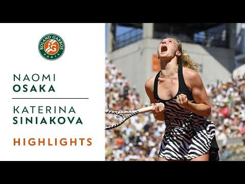 Naomi Osaka vs Katerina Siniakova - Round 3 Highlights | Roland-Garros 2019