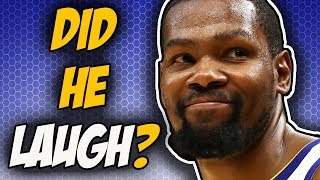 Kevin Durant On J.R. Smith's Mistake