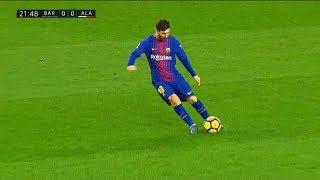 شاهد جميع أهداف ميسي في الدوري الإسباني 2017_2018     -