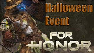 For Honor [PC] Special Halloween Event! New Masks | Conqueror Gameplay