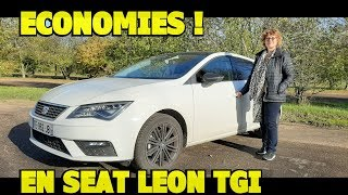Témoignage : elle roule en Seat Leon au gaz naturel