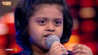 Super Singer Junior - Naan Oru Sindhu by Tanushree