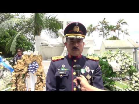 29 AGOSTO 2014 149 ANIVERSARIO DE FALLECIMIENTO CAP GRAL GERARDO BARRIOS