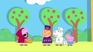 Peppa Pig (chapeuzinho vermelho)
