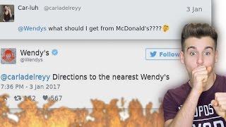 Wendy's Is Roasting People On Twitter