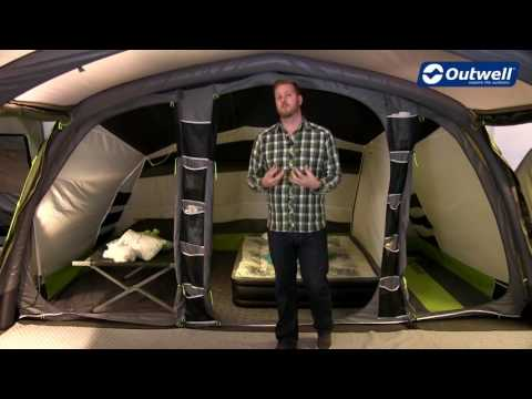 video Outwell Bear Lake 6É – It looks like a canvas tent, but is it?