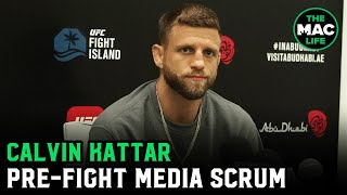 """Calvin Kattar thought Max Holloway won; says top 145-pounders aren't fighting, """"they're all talking"""""""
