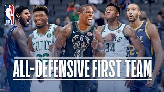 The Best of the 2018-19 NBA All-Defensive First Team!