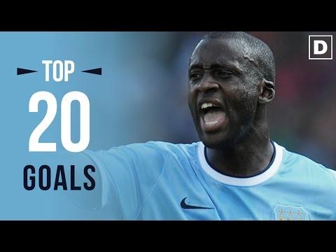 TOP 20 des buts de Yaya Touré