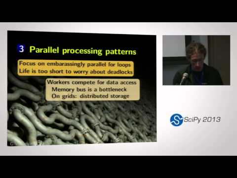 Image from Processing biggish data on commodity hardware: simple Python patterns; SciPy 2013 Presentation