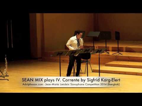 SEAN MIX plays IV Corrente by Sigfrid Karg Elert