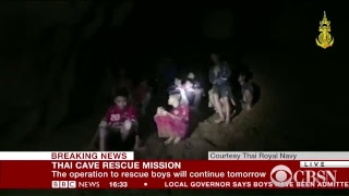 Watch Now: Thai Cave Rescue Underway