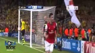 Arsenal vs Borussia Dortmund 1-1 UEFA Champions League 22.10.2013