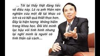 """PGS TS Nguyễn Hữu Đạt: Buộc phải """"d/i/ệ/t tận gốc"""" cải cách của PGS TS Bùi Hiền"""