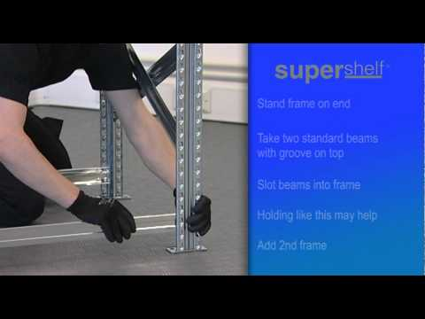 How to Build Supershelf™ Longspan and Shortspan Shelving