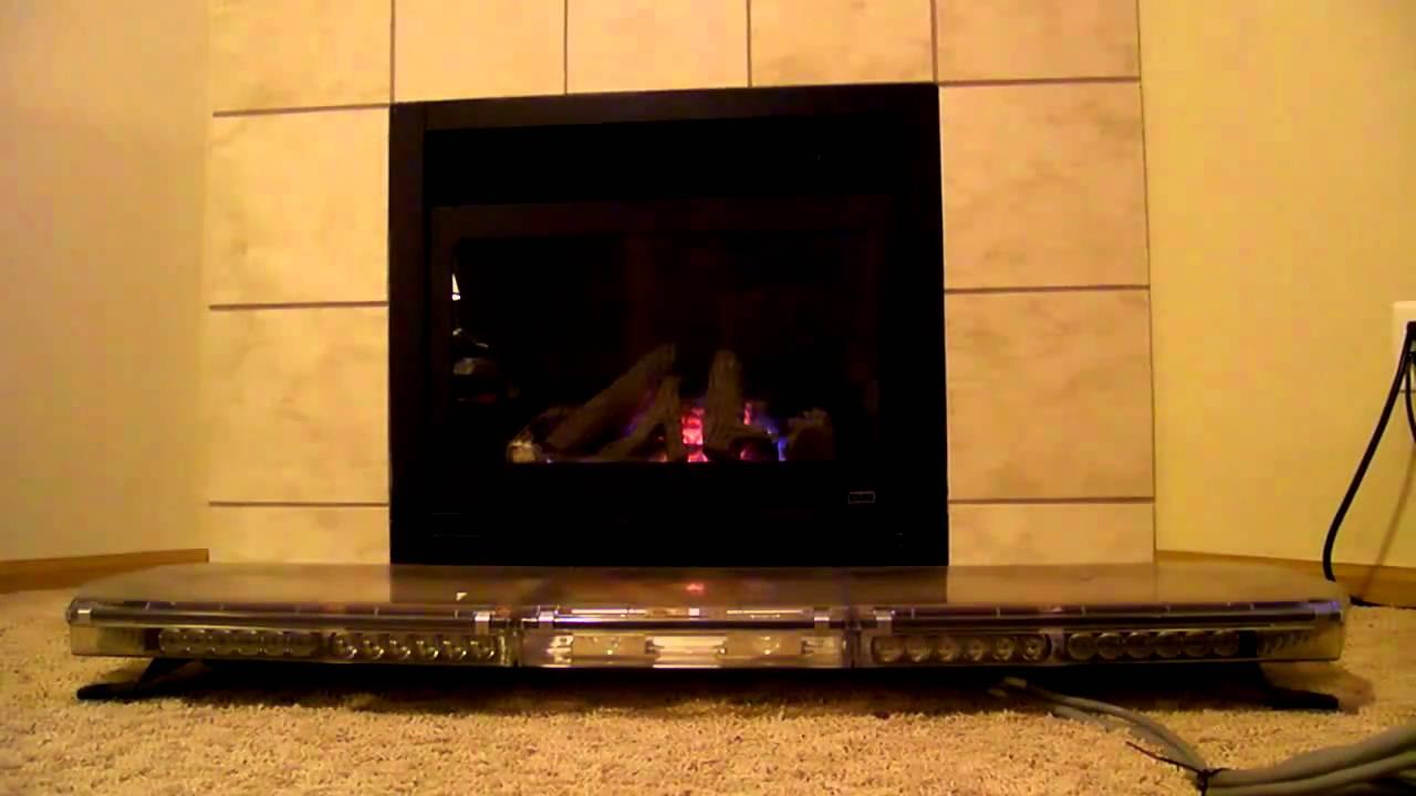 code 3 2100 led lightbar front youtube. Black Bedroom Furniture Sets. Home Design Ideas