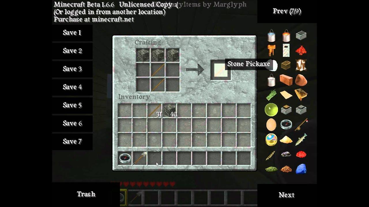 minecraft wie baut man werkzeuge und ein schwert youtube. Black Bedroom Furniture Sets. Home Design Ideas