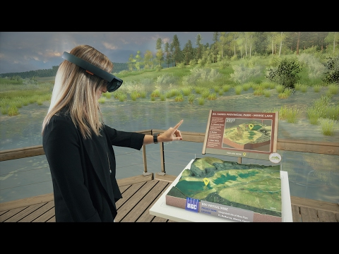 VIDEO: BGC Engineering, in partnership with LOOOK, releases first 3D holographic mine reclamation visualization tool using revolutionary new technology