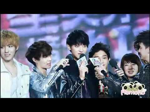 [Fancam ] 120705 EXO-M  @ Chengdu music - Tao crying