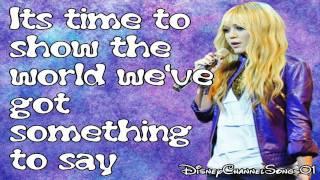Hannah Montana Wherever I go With Lyrics HD