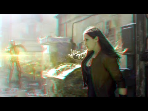 Avengers : Age of Ultron - Clip (2015)(3D)(Side By Side) scarlet witch
