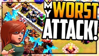 WHY DID THIS HAPPEN? Clash of Clans Attacks - My WORST