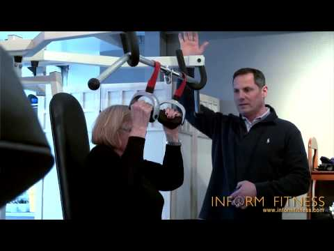 Lifting Weights at 90 Years Old - InForm Fitness Gym New York, NY