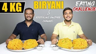 4 KG BIRYANI EATING CHALLENGE | Biryani Eating Competition | Food Challenge